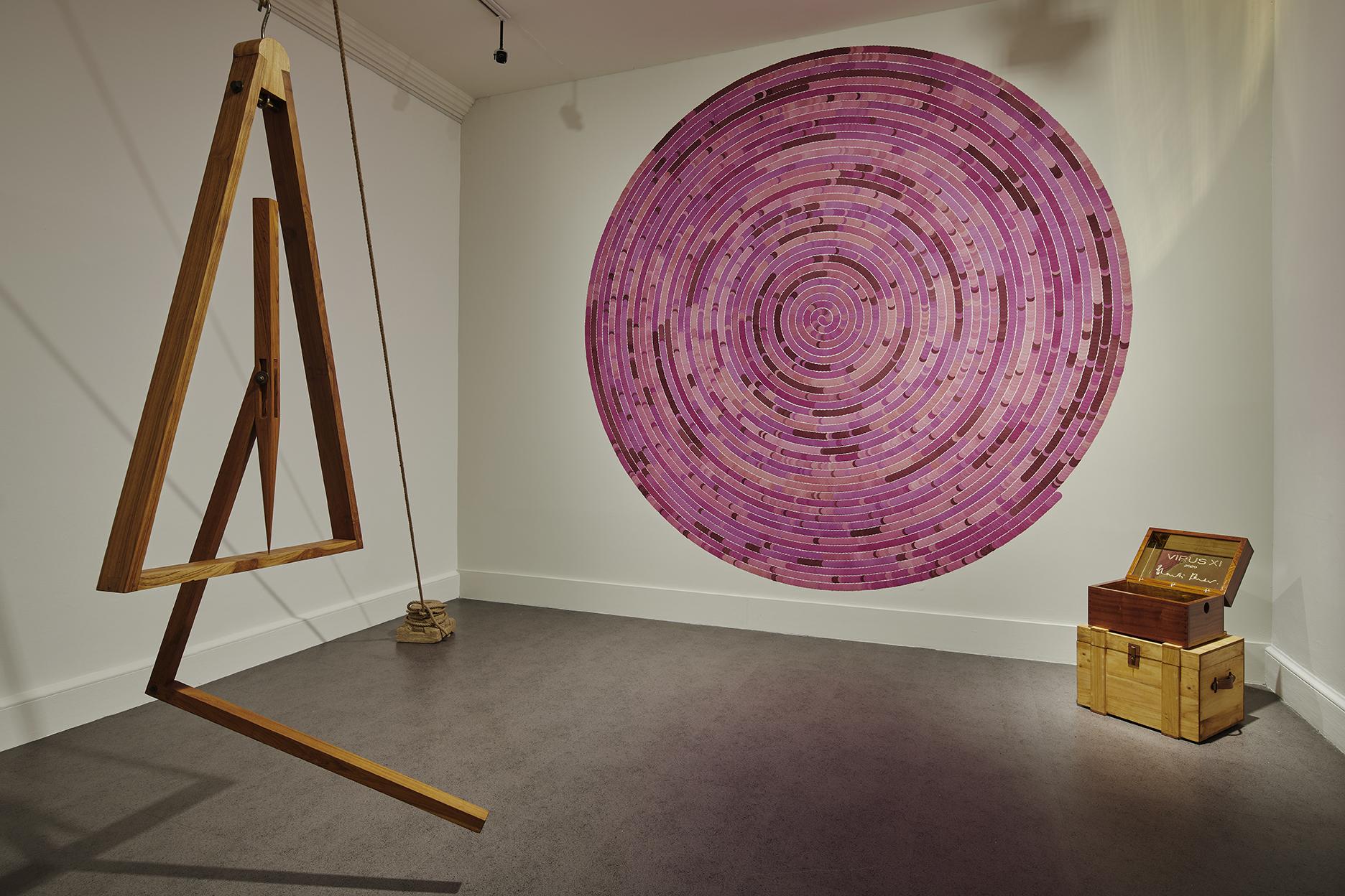 Installation view of A Consummate Joy by Bharti Kher. Photos Ros Kavanagh