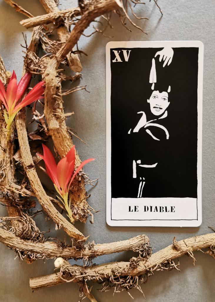 The Devil. Ulla von Brandenburg, Tarot Set, 2008