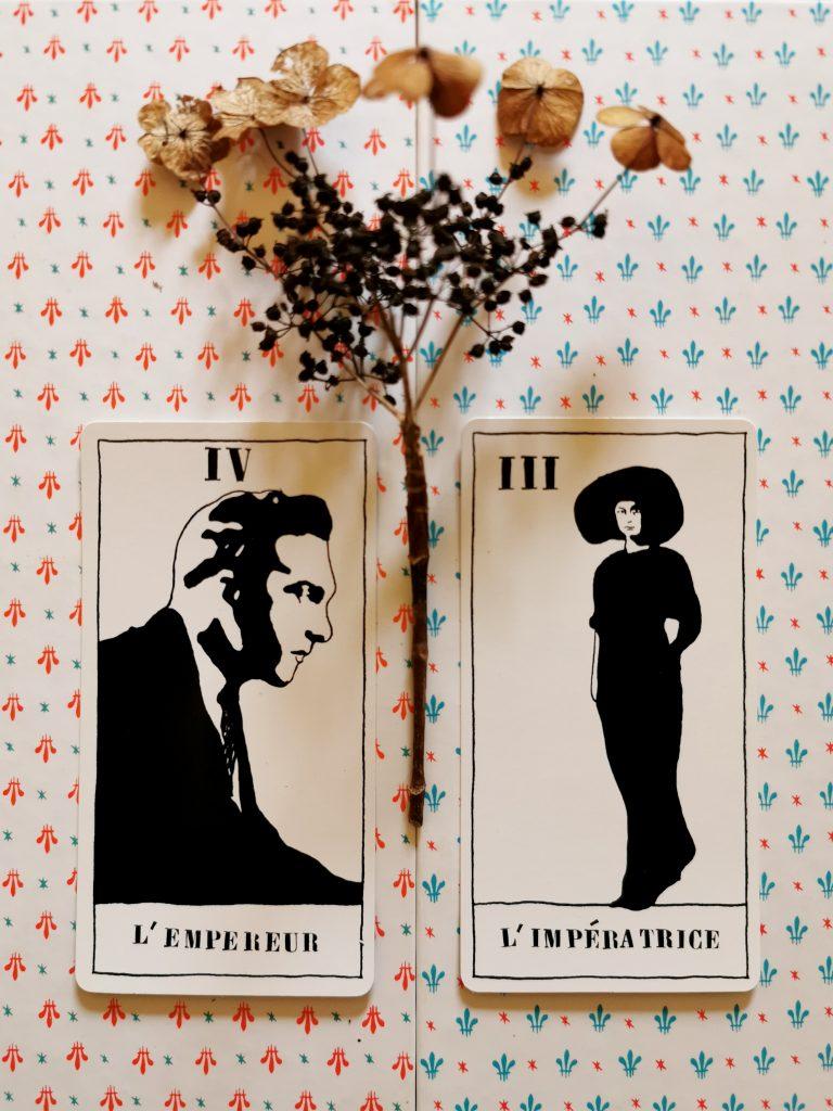 The Empress & The Emperor. Ulla von Brandenburg, Tarot Set, 2008