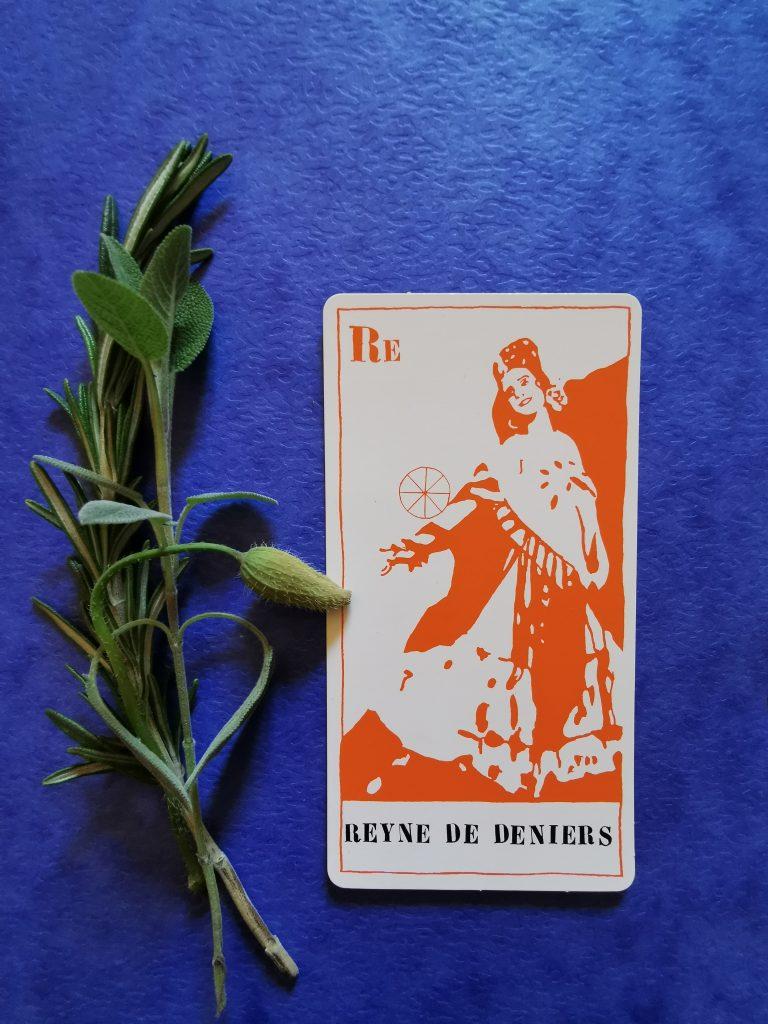 The Queen of Pentacles. Ulla von Brandenburg, Tarot Set, 2008