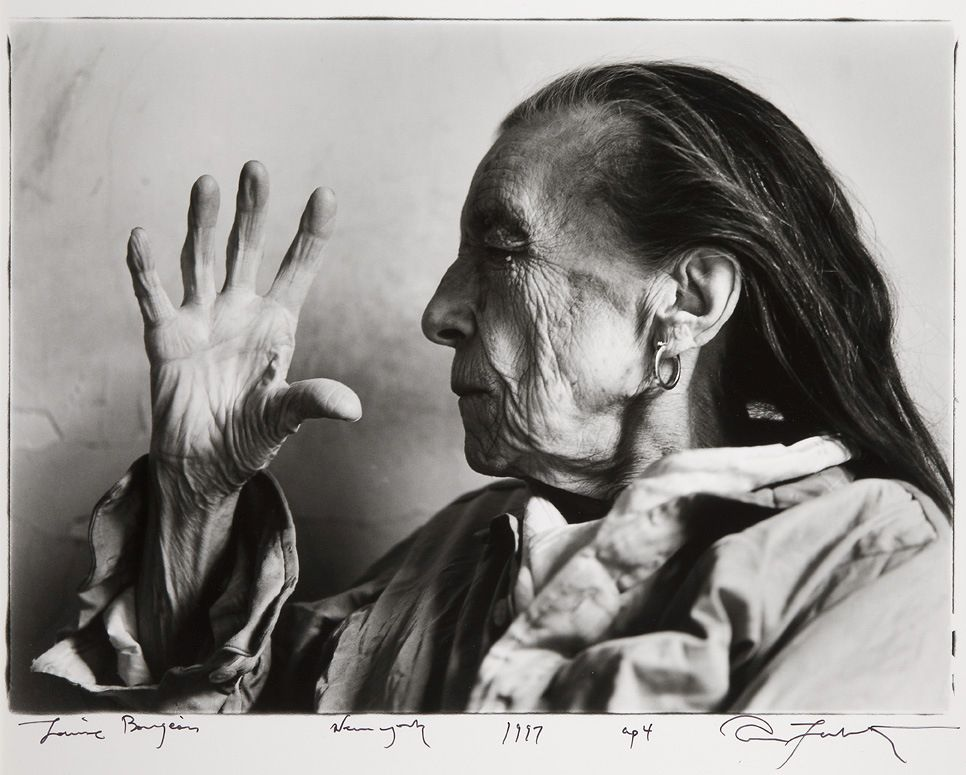 Annie Leibovitz, Louise Bourgeois, New York, 1997