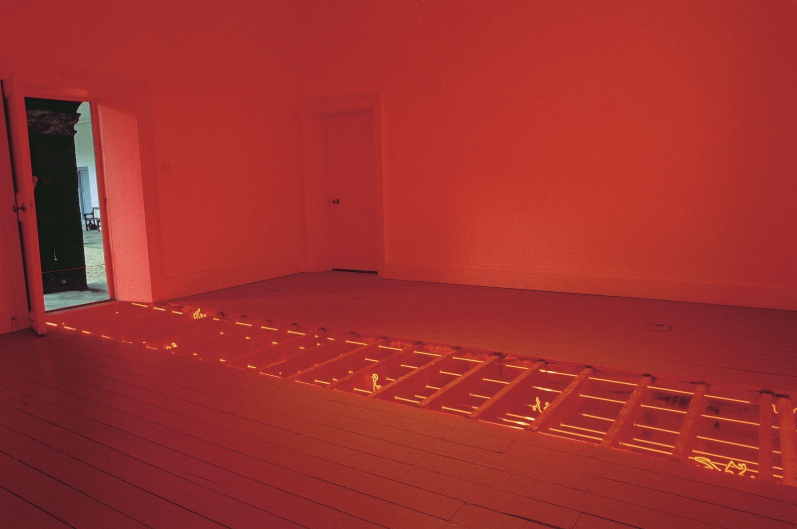 Vong Phaophanit, Line Writing, 1994