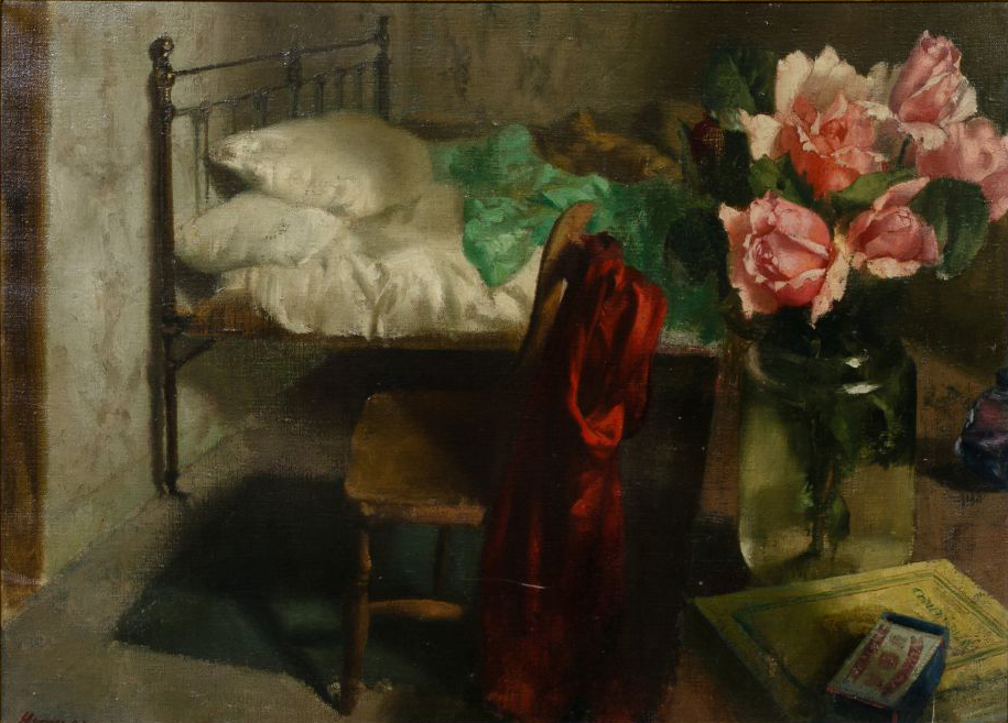 Hennessy. Roses in a Bedroom, 194