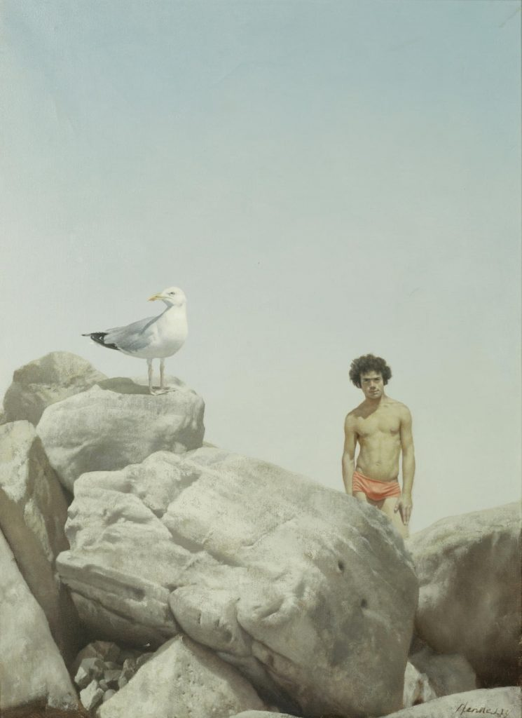 Hennessy. Boy and Seagull, 1974