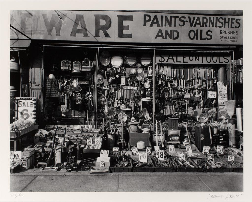 Berenice Abbott, Hardware Store, 1938