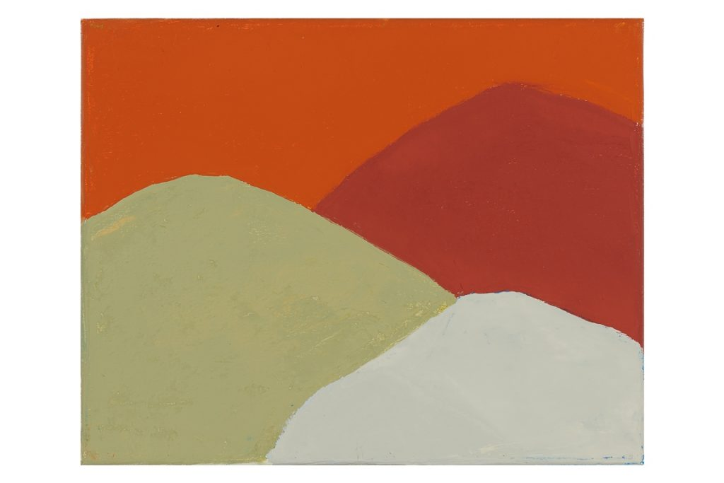 Etel Adnan, Untitled (#213), 2013