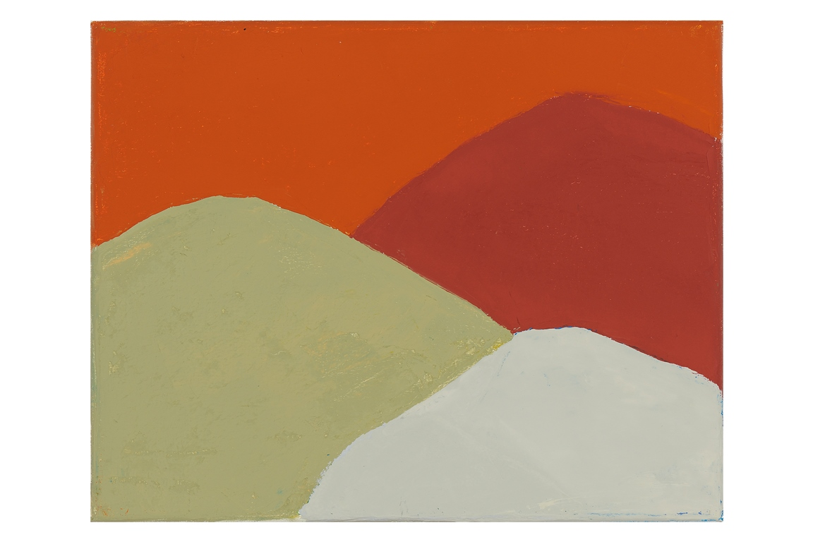 Etel Adnan, Untitled (#213), 2013