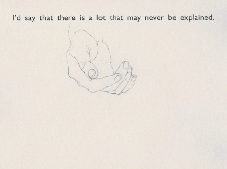Isabel Nolan, The Condition of Emptiness, 2007, DVD animation, Duration: 11 min, Collection Irish Museum of Modern Art, 2018