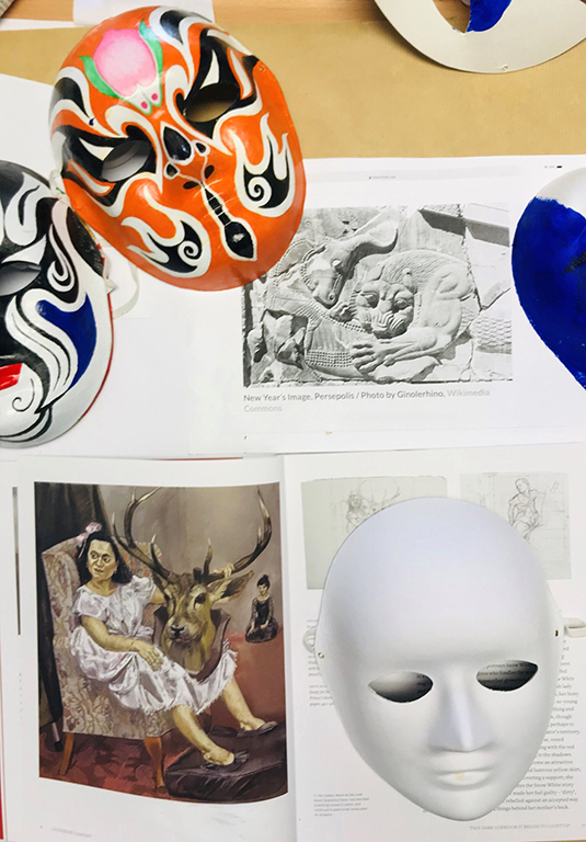Mask, Myth & Multiple Cultures