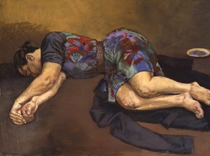 Paula Rego, Sleeper, 1994, Pastel on canvas 120 x 160 cm
