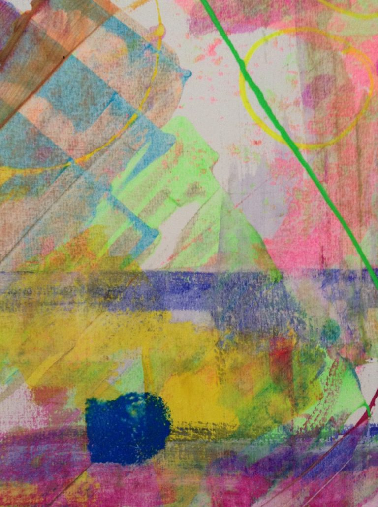 Abstract Painting Explorer at Home