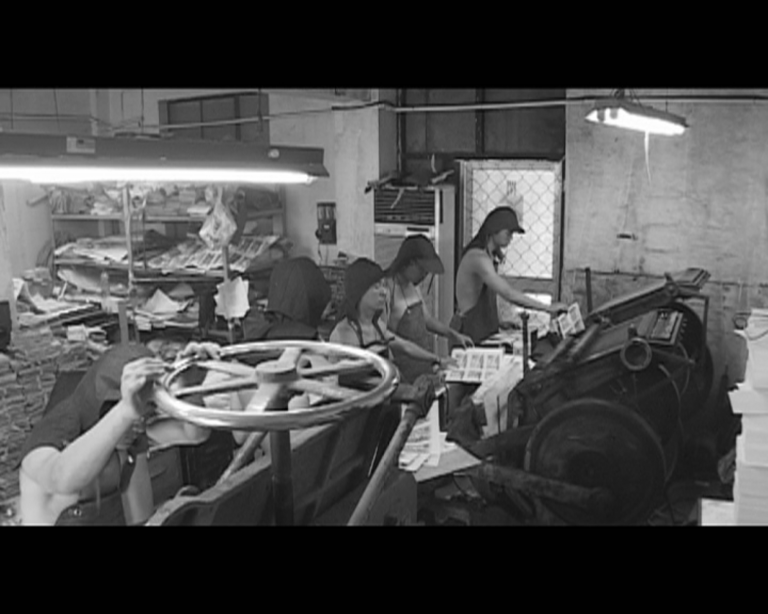 Lu Chunsheng, Before the Appearance of the First Steam Engine, 2003, Video, Duration: 35min.27 sec., Collection Irish Museum of Modern Art, Purchase, 2004 Image ©the artist