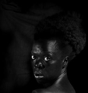 Zanele Muholi , S'thombe, La Réunion, 2016, Quadriptych, Silver gelatin prints, 30 x 28.3cm, 30 x 32cm, 30 x 25cm, 30 x 30cm, Edition of 8 + 2AP, David Kronn Collection, Promised Gift to IMMA IMAGE COURTESY OF © the artist