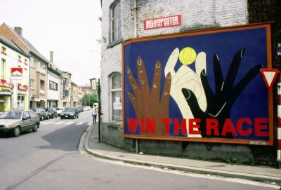 """Win the Race"" campaign, Aalst, Belgium"