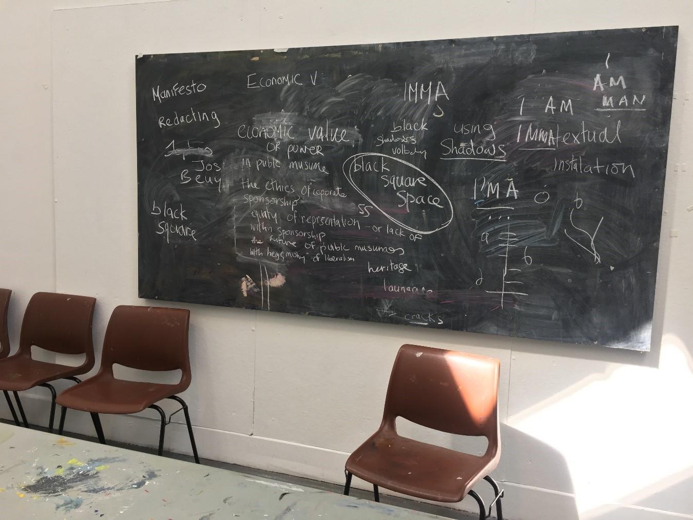 Studio 9, IMMA Summer School 2019, Photo: Louis Haugh