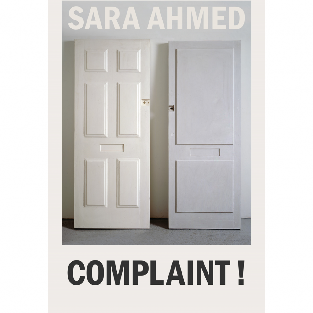 'Complaint, Diversity and Other Hostile Environments' by Sara Ahmed